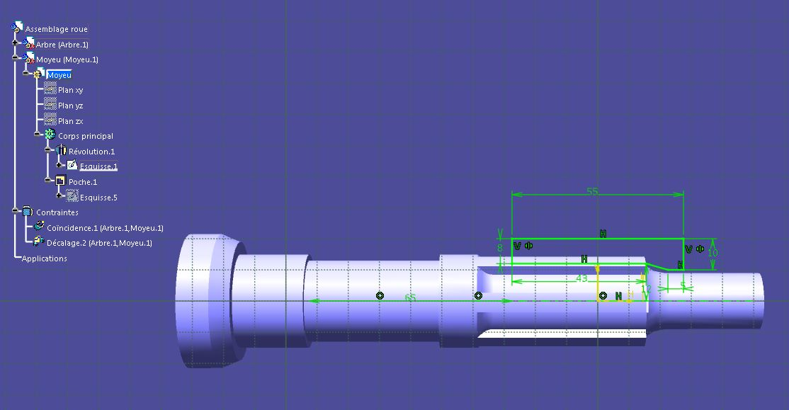 Paramètres - Assemblages et sous-assemblages Catia-006