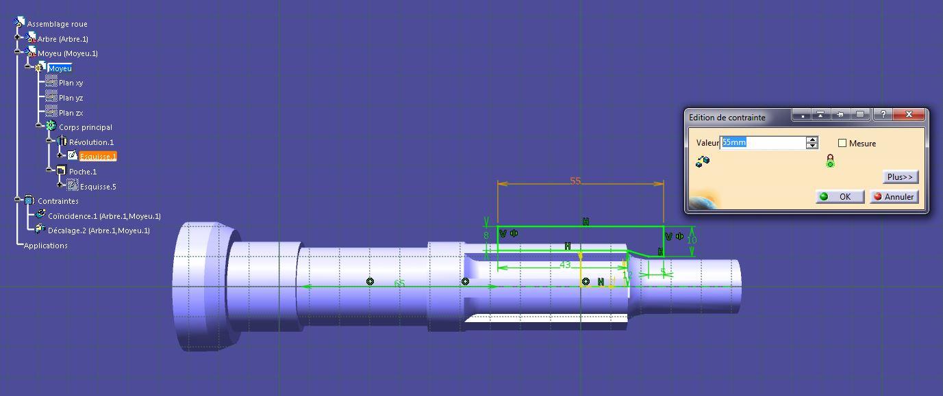Paramètres - Assemblages et sous-assemblages Catia-007