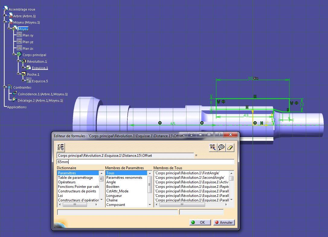 Paramètres - Assemblages et sous-assemblages Catia-008