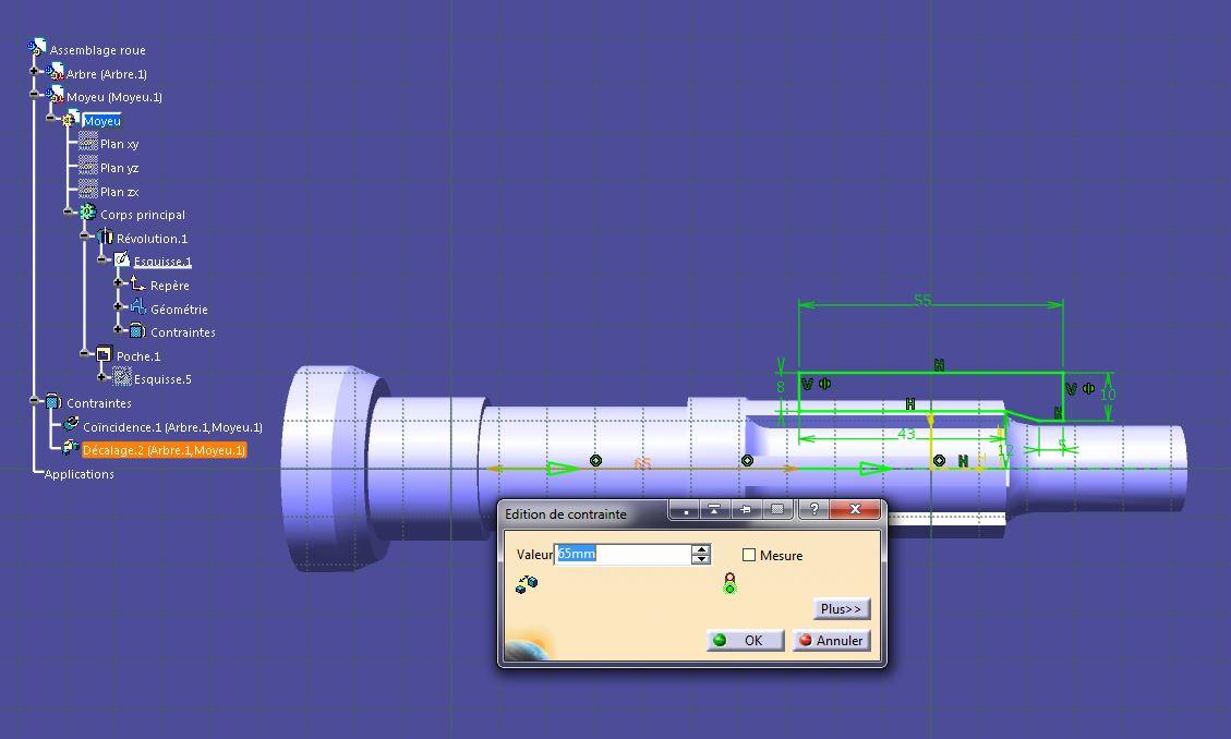 Paramètres - Assemblages et sous-assemblages Catia-009