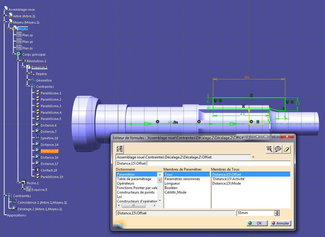 Paramètres - Assemblages et sous-assemblages Catia-010